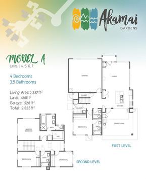 Akamai Gardens - Floor Plan Model A - Ap