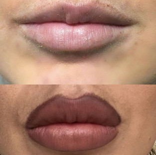 __Serious lip envy__ ._._This look was a