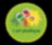 logo activité art plastique aux micro-crèches éducatives et pédagogiques Les GarderieLand