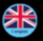 logo activité anglais aux micro-crèches éducatives et pédagogiques Les GarderieLand