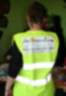 port du gilet jaune obligatoire lors de tous déplacements des professionels Des GarderieHome,garde à domicile.