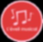 Logo activité éveil musical aux GarderieLand micro-crèches éducatives et pédagogiques en nord isère