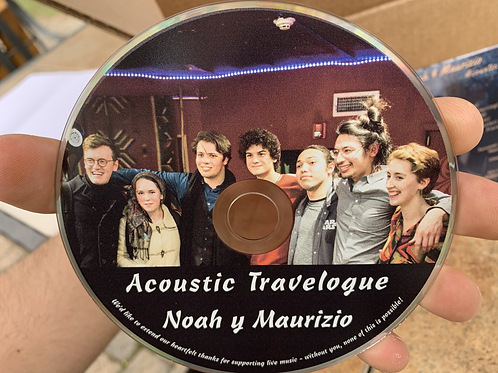 """""""Acoustic Travelogue"""" CD"""