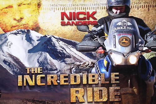 The Incredible Ride DVD