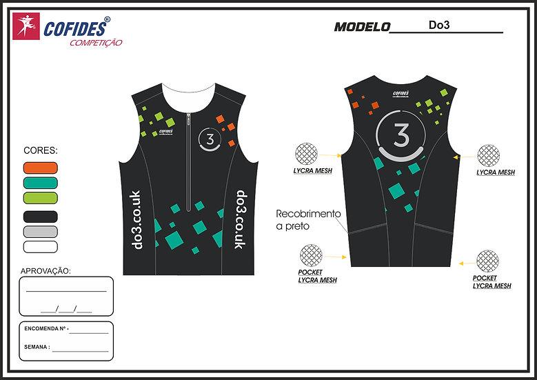Men's Do3 two piece tri suit