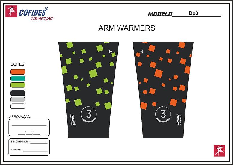 Unisex Do3 arm warmers