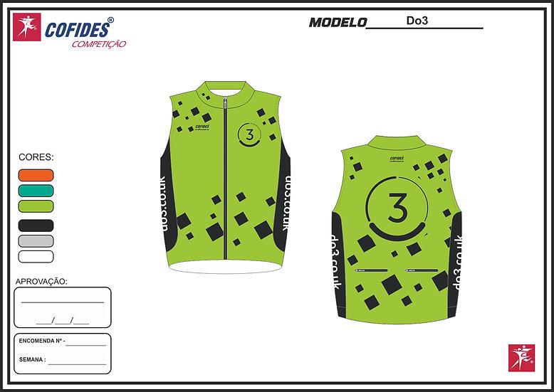 Men's Do3 training gilet - green