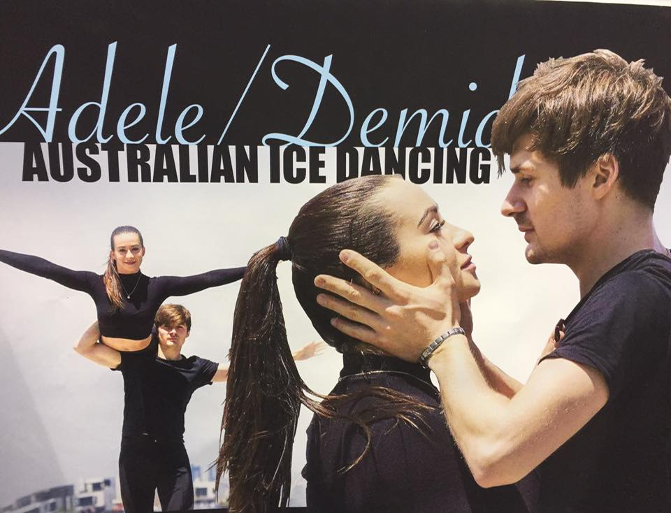 Adele Demid Aus Ice Dancers