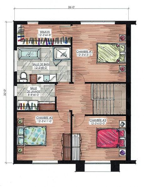 Plan de maison Trois-Rivières