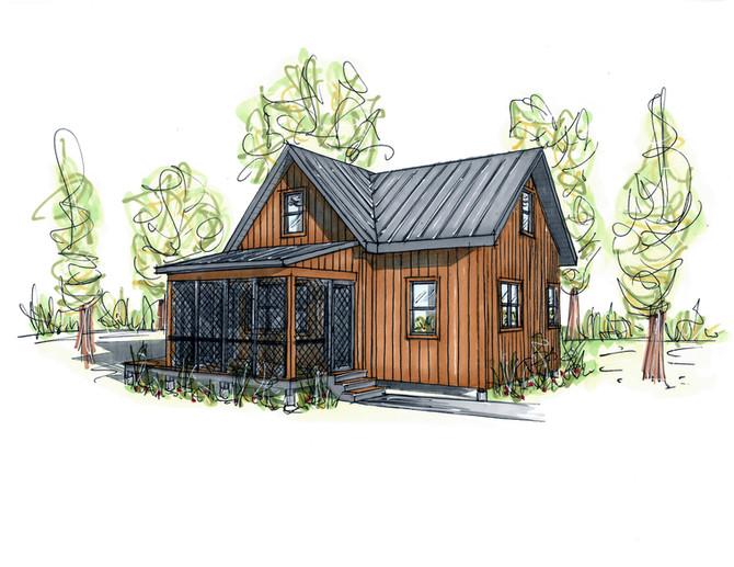 Prototype de mini-maison