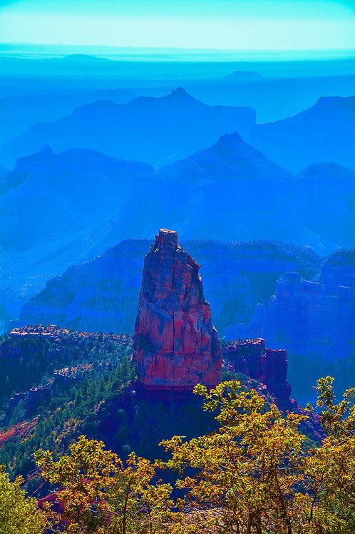 Mt. Hayden, Vertical