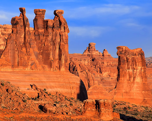 Three Patriarchs and the Tower of Babel, Arches National Park