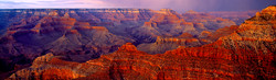 Panorama Sunset, South Rim