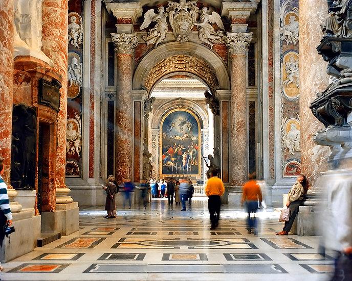 Interior of St. Peter's Basilica, Vatican