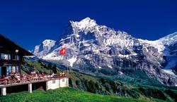 The Wetterhorn, Jungfrau Region, Switzer
