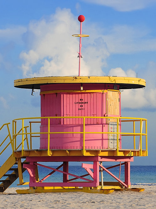 Pink Lifeguard