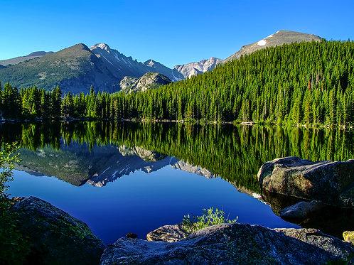 Bear Lake & Longs Peak
