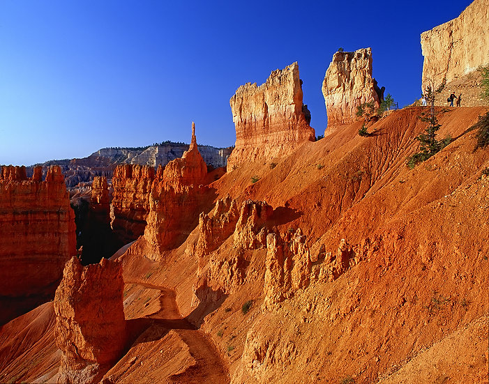 Sunrise from the Navajo Loop Trail, Bryce Canyon NP