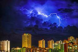 Lightning Over Sunny Isles Beach #2