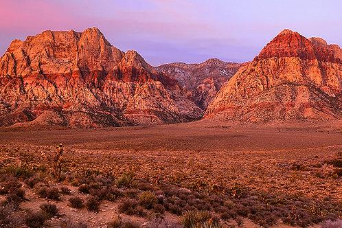 Wilson Peaks at Dawn