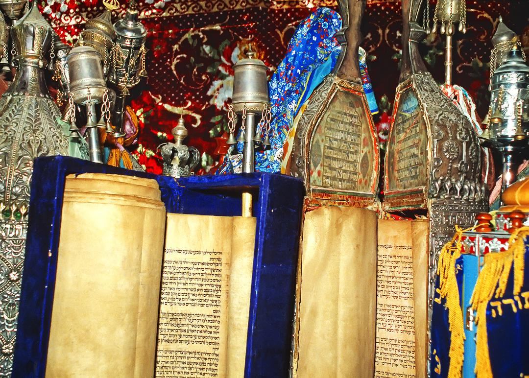 Torahs in Safed, Israel