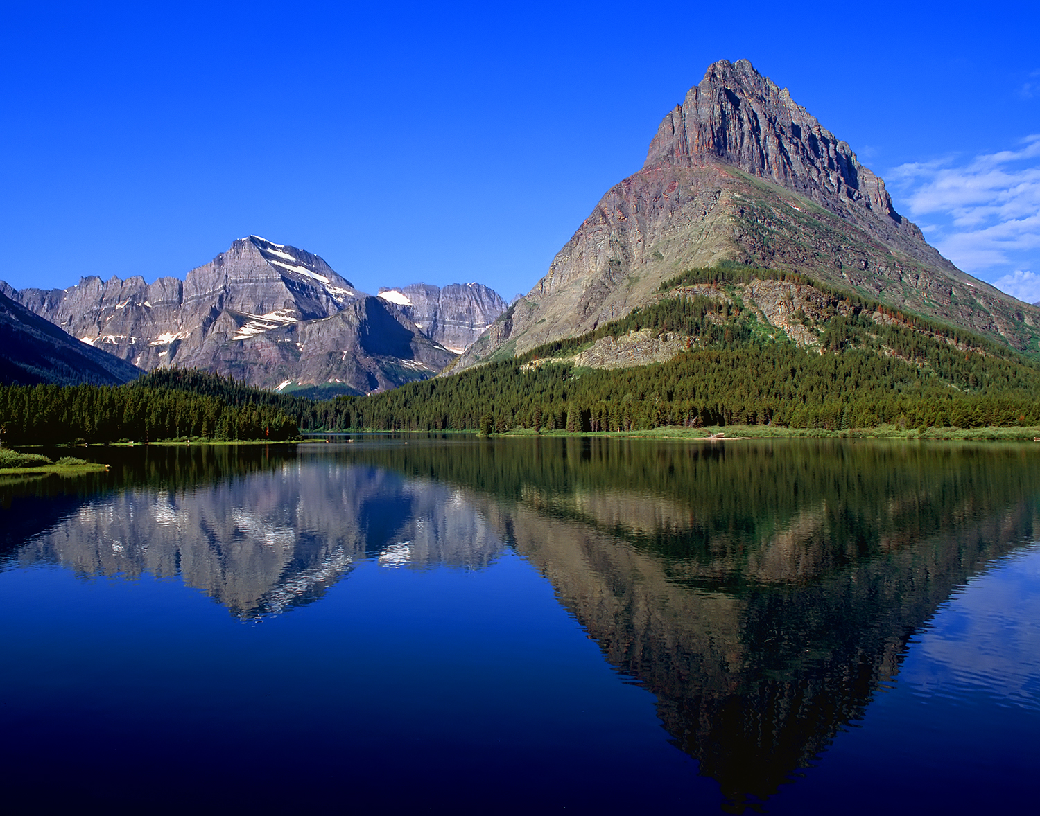 Mt. Gould & Swiftcurrent Lake