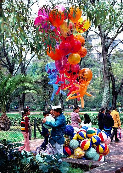 Balloon Man, Chapultepec Park, Mexico City