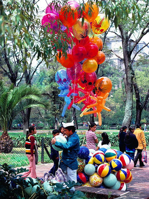 Balloon Man, Chapultepec Park, Mexico City