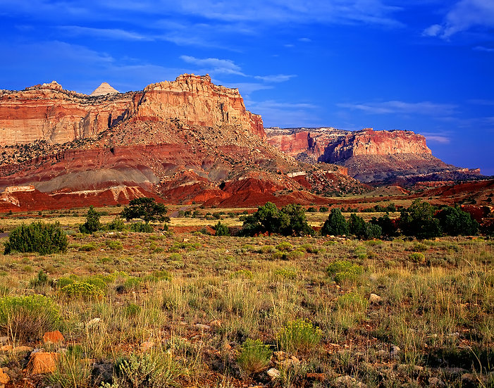 View from the Scenic Drive, Capitol Reef NP
