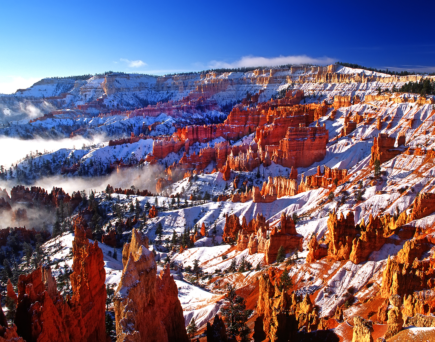 Clearing Winter Storm, Bryce Canyon NP