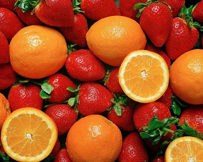 Strawberries & Oranges