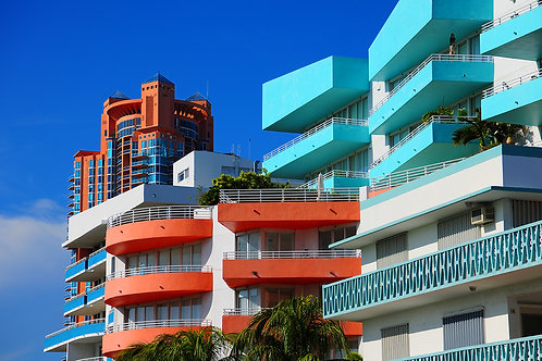 Modern Architecture on South Beach