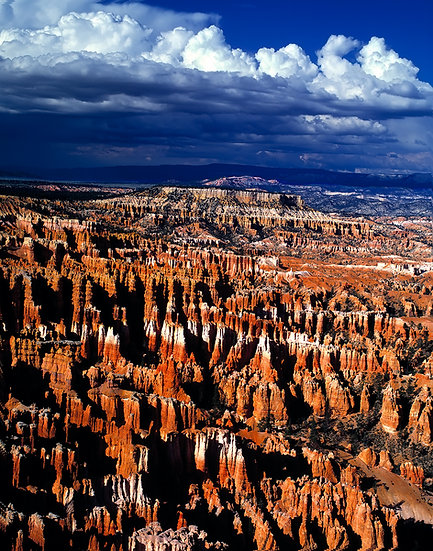Stormy Weather from Bryce Point, Bryce Canyon NP