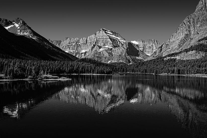 Mt Gould B&W (Glacier NP)