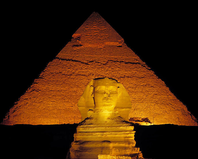 Sphinx at Night