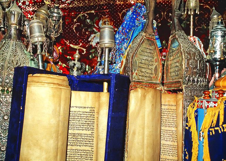 Torahs of Safed, Israel