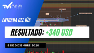 *VIDEO* + 340 USD Entrada del día 08/12/20