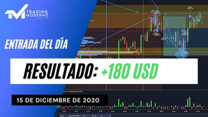 *VIDEO* + 180 USD Entrada del día 15/12/20