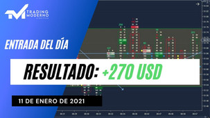 *VIDEO*  Entrada del día 11/01/21 + 270 USD