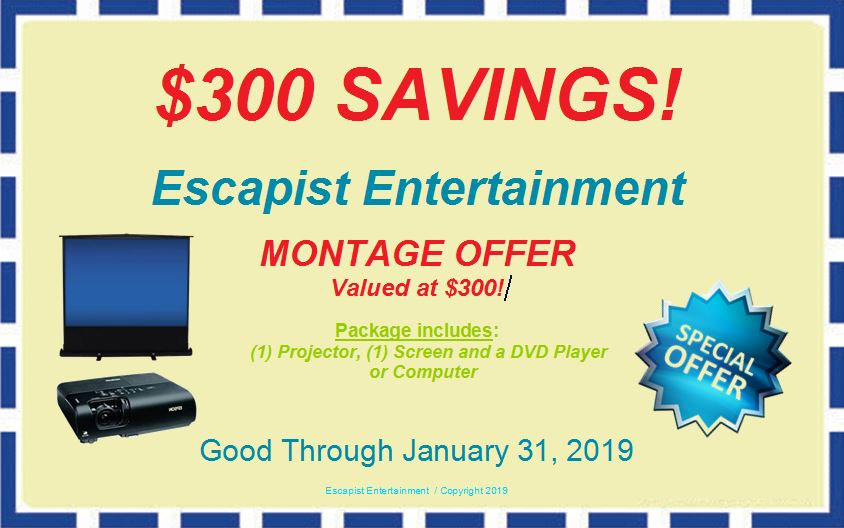 FREE MONTAGE OFFER COUPON EXPIRES JANUAR