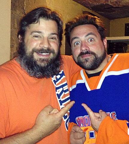 Kevin Smith with Chris Stavrakis