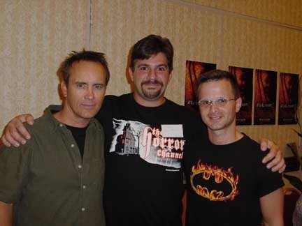 Jeffrey Combs with Chris and Mark