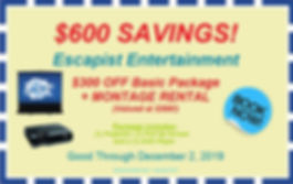FREE MONTAGE and $300 OFF COUPON 2019.JP
