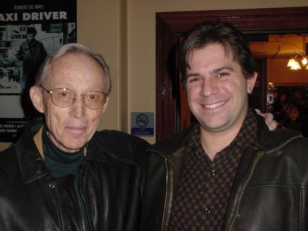Dick Smith with Christian Stavrakis