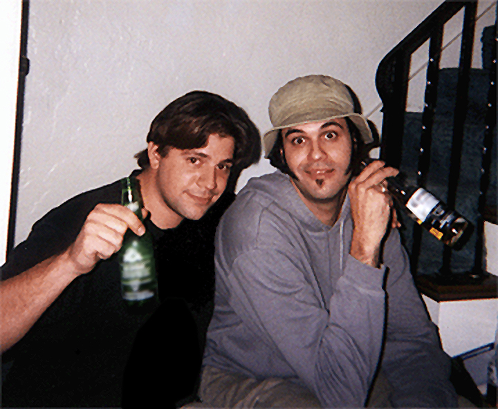 Eduardo Sanchez with Chris Stavrakis