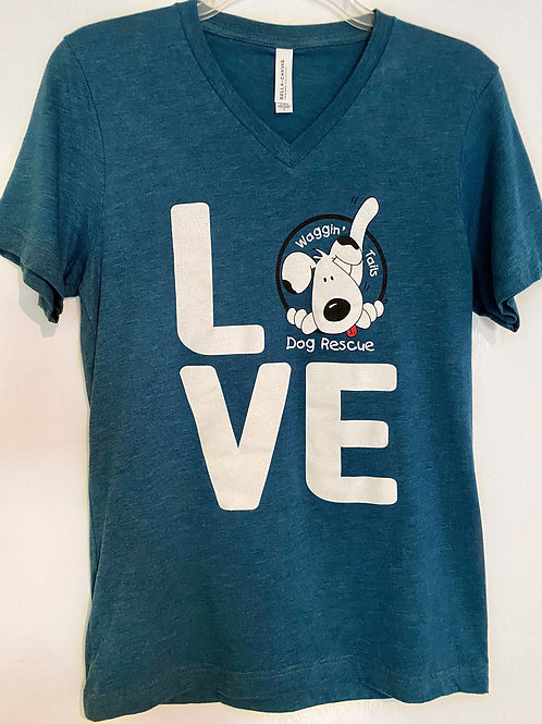 Love T-Shirt, V-Neck