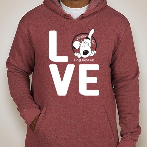 Love Hoodie - Maroon (Red)
