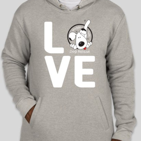 Love Hoodie - Grey