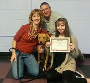 TrainingBuddies_Bailey with family 2014.
