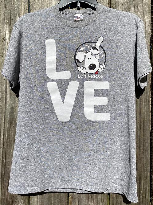 Love T-Shirt, Crewneck